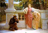 Charles Edward Perugini - The Lizard Charmer