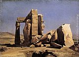 Charles Gleyre - Egyptian Temple