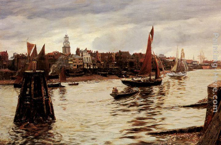 Charles Napier Hemy Limehouse
