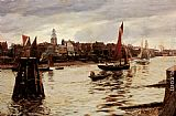Charles Napier Hemy Limehouse painting