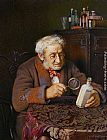 Charles Spencelayh - A Touch of Rheumatism
