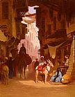 Charles Theodore Frere The Souk painting