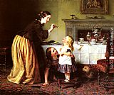 Charles West Cope - Breakfast Time - Morning Games