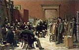 Charles West Cope - The Council of the Royal Academy Selecting Pictures for Exhibition