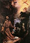 St Francis Receives the Stigmata