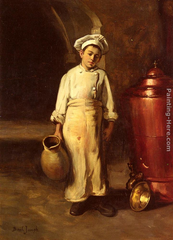 claude joseph bail the cook 39 s helper painting framed paintings for sale