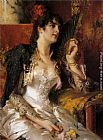 Conrad Kiesel - Senorita with a Fan