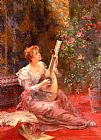 Conrad Kiesel - The Lute Player