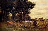 Constant Troyon - Cows Grazing