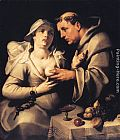 Cornelis Cornelisz Van Haarlem - The Monk and the Nun