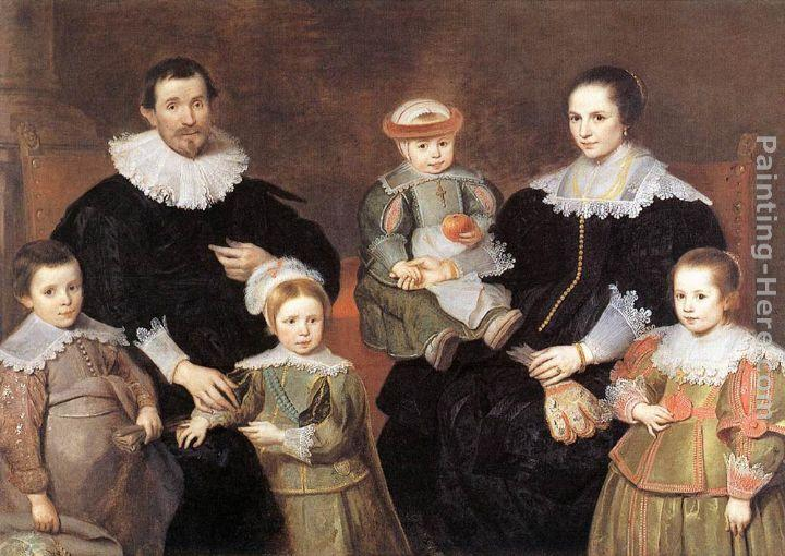 Cornelis De Vos The Family Of Artist