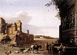 ancient Wall Art - Ruins of Ancient Rome