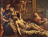 Correggio Deposition from the Cross painting