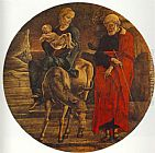 Cosme Tura - Flight to Egypt (from the predella of the Roverella Polyptych)