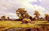 David Bates - A Warwickshire Hayfield