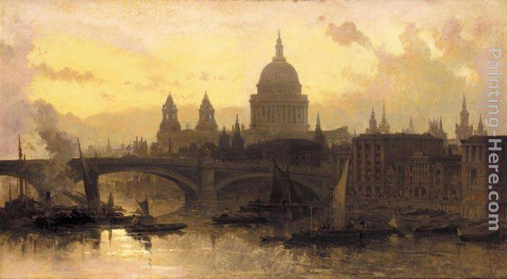 Famous Thames Paintings For Sale Famous Thames Paintings