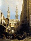 David Roberts - A View in Cairo