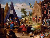 David the Younger Teniers - A Festival Of Monkeys