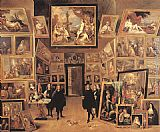 David the Younger Teniers - Archduke Leopold Wilhelm in his Gallery