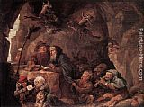 David the Younger Teniers - Temptation of St Anthony