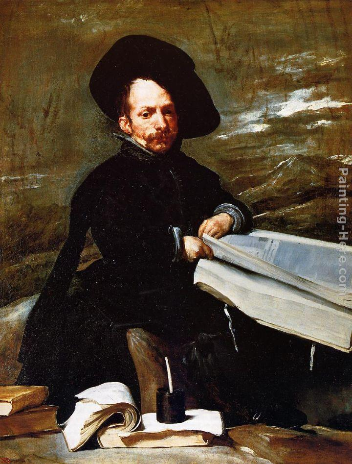 Diego Rodriguez De Silva Velazquez Canvas Paintings