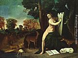 Dosso Dossi - Circe and her Lovers in a Landscape