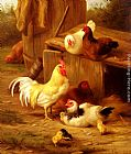 Edgar Hunt - Chickens And Chicks