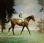 Edmund Charles Tarbell - Thoroughbred with Jockey up
