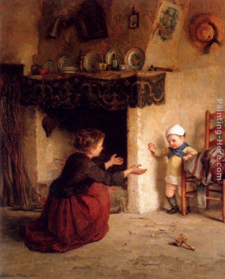 Edouard Frere Baby's First Steps