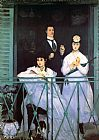 Eduard Manet The Balcony painting