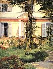 House Wall Art - The house at Rueil