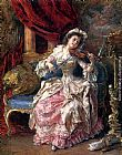 Eduardo Leon Garrido A Musical Afternoon painting