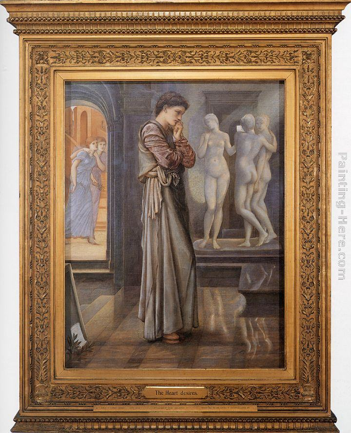 Edward Burne-Jones Pygmalion and the Image I - The Heart Desires