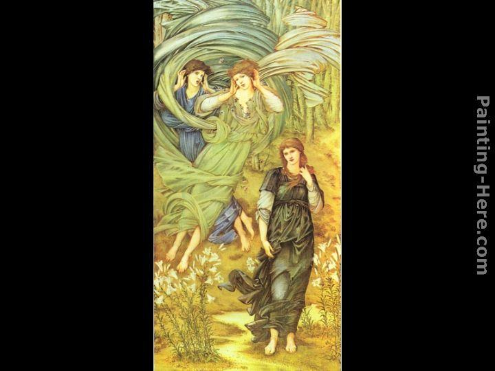 Edward Burne-Jones Sponsa de Libano