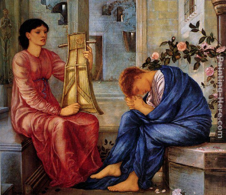 Edward Burne-Jones The Lament