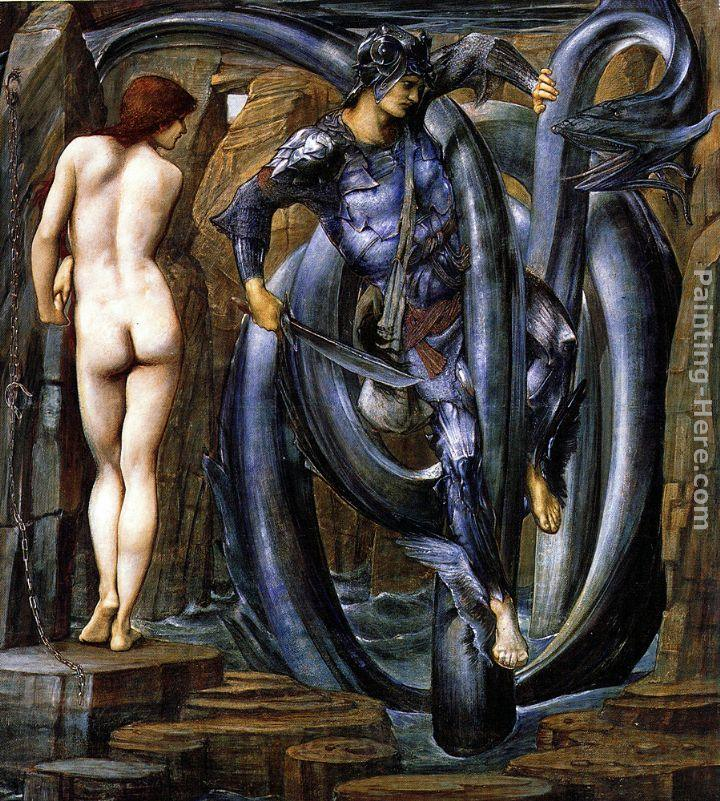 Edward Burne-Jones The Perseus Series The Doom Fulfilled