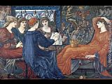Edward Burne-Jones Laus Veneris painting