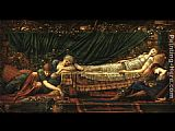 Edward Burne-Jones Sleeping Beauty painting