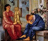 Edward Burne-Jones The Lament painting