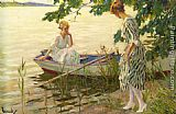 Edward Cucuel - An Afternoon on the Lake