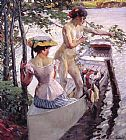 Edward Cucuel - The Bathing Place