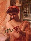 Edward John Poynter - Psyche in the temple of love