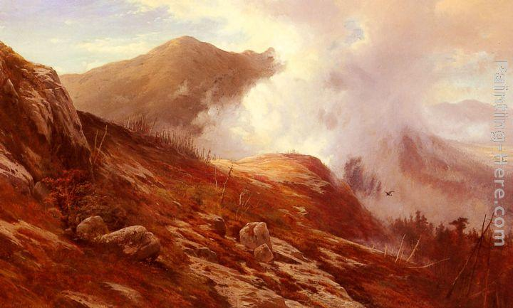 Edward Moran Half-Way Up Mt. Washington