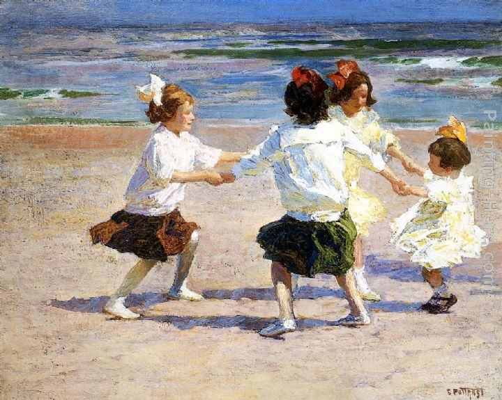 Edward Potthast Ring around the Rosy