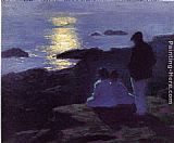 Edward Potthast - A Summer's Night