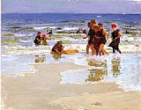 Edward Potthast - At the Seashore