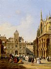 Edward Pritchett - A View Of St Mark's Square