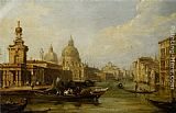 Edward Pritchett On the Grand Canal - Venice painting