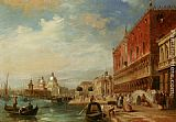 Edward Pritchett - Santa Maria Della Salute from the Dodges Palace Venice