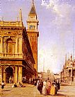 Edward Pritchett - St Mark's Square, Venice